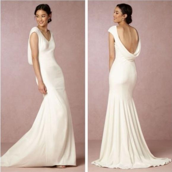 Theia for BHLDN Dresses | Bhldn Theia Ingrid Velvet Wedding Gown ...